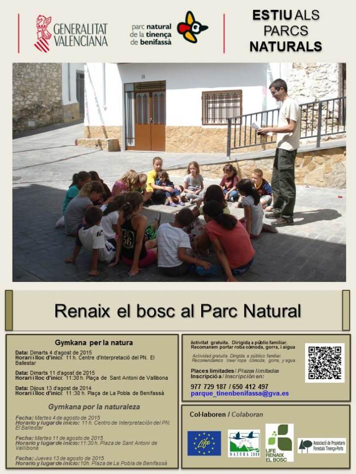 activitats estiu parc natural de la tinença el boixar allotjament rural senderisme senderismo alojamiento rural