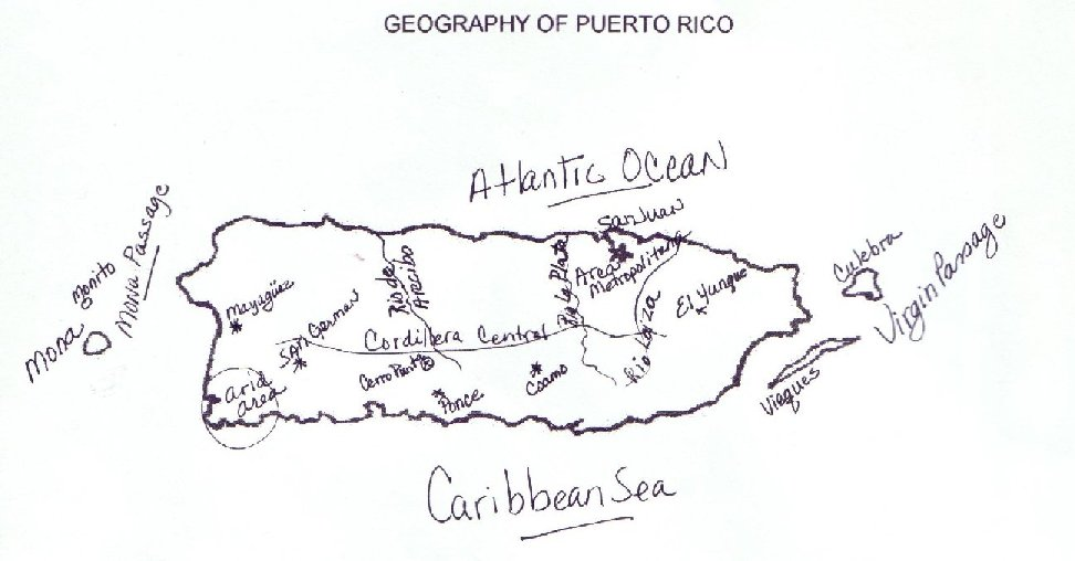 puerto rico and geography