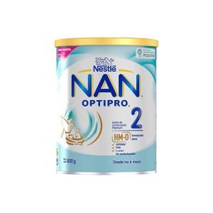 Nan 2 Expert Optipro es una leche de continuación para bebés a partir de los 6 meses.