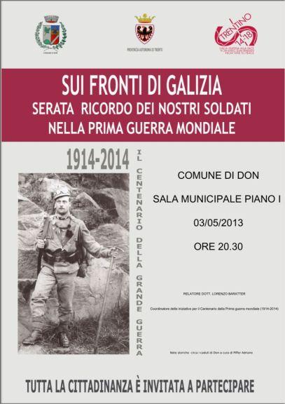 Fronti di Galzia _ Don _ Val di Non