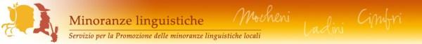 testata_scritte_Minoranze linguistiche