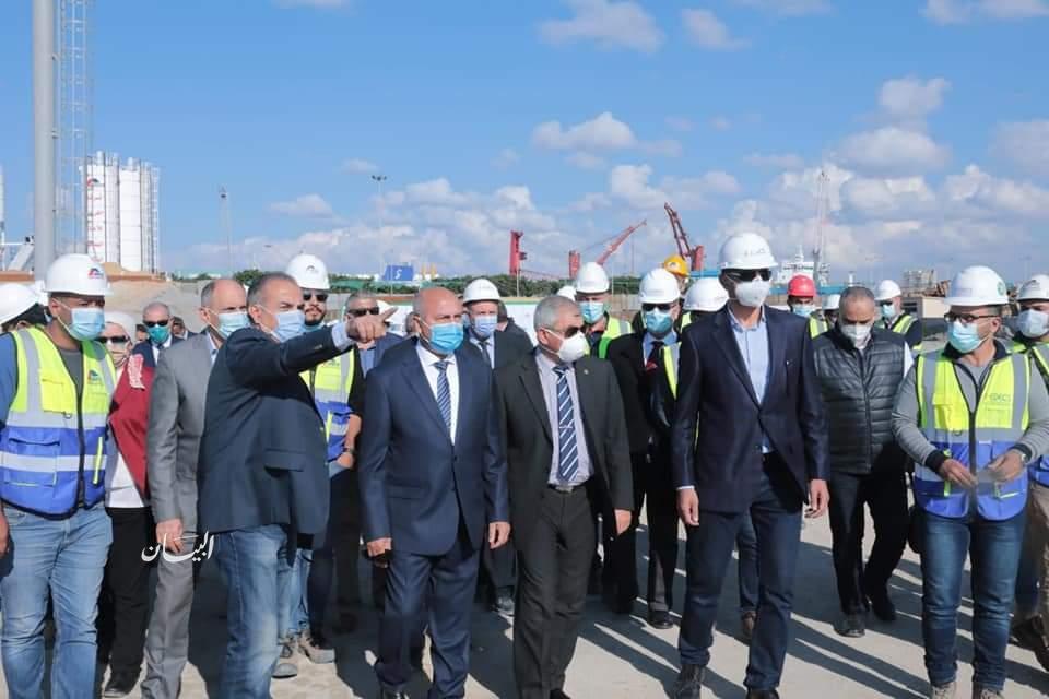 وزير النقل يتابع معدلات تنفيذ عدد من المشروعات الخدمية بميناءي الدخيلة  والإسكندرية