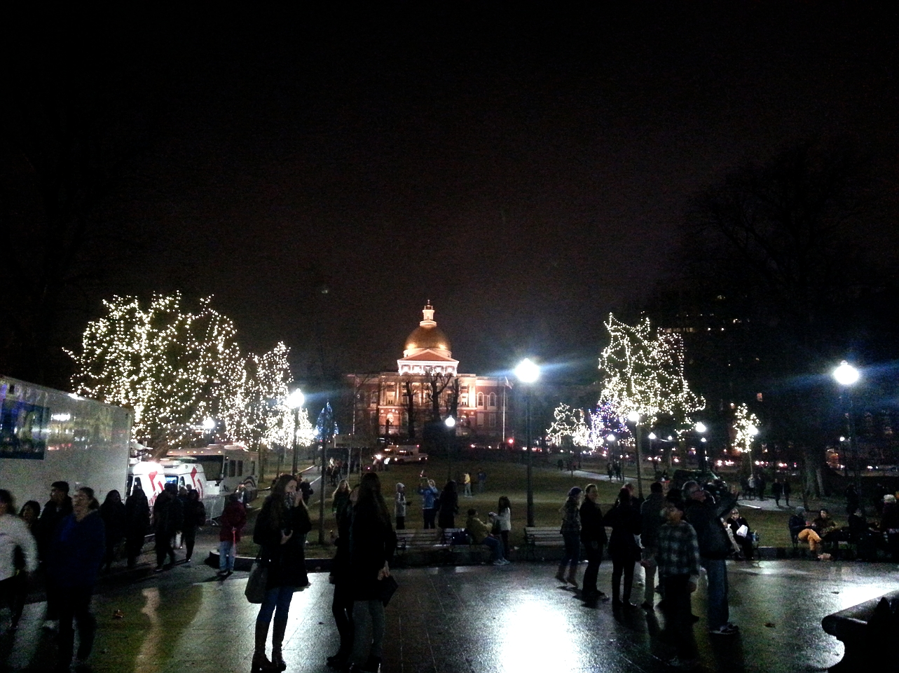 Boston Tree Lighting Ceremony