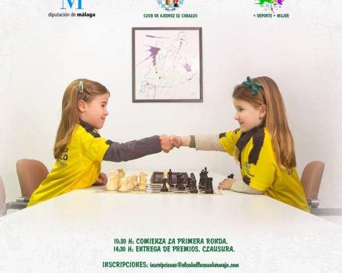III Open Femenino de Ajedrez en Casabermeja