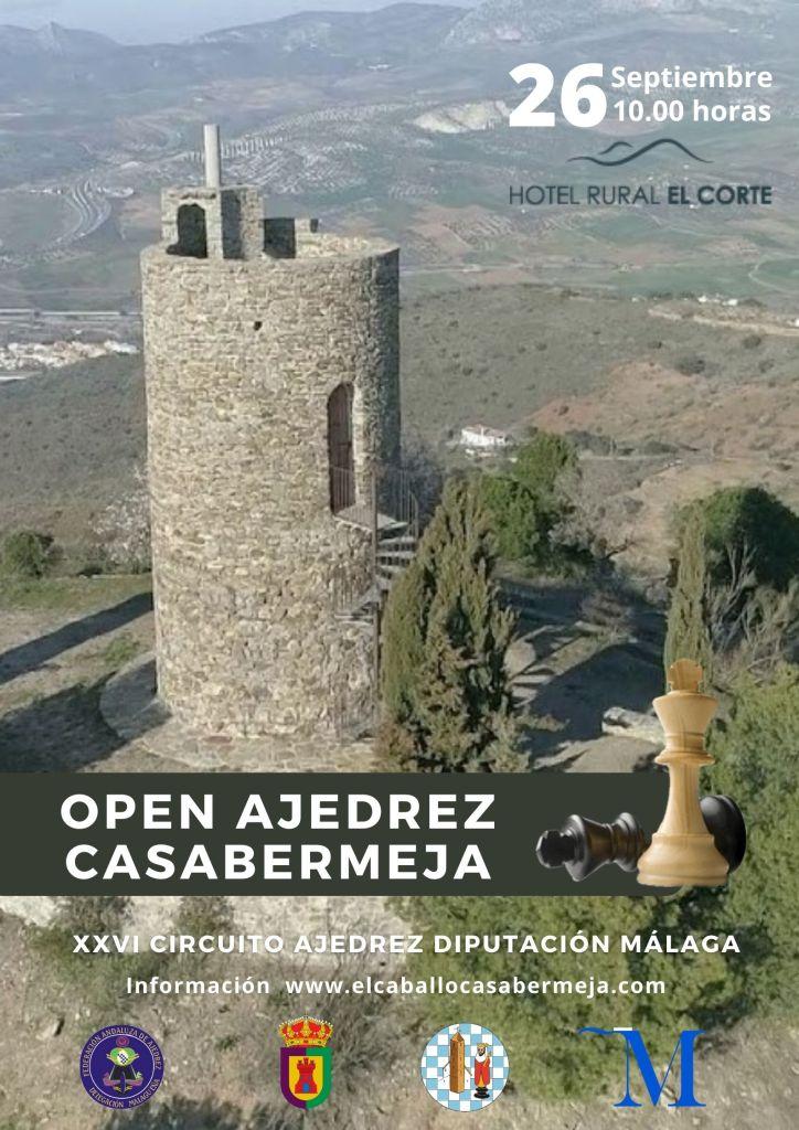 Open de ajedrez de Casabermeja 2020