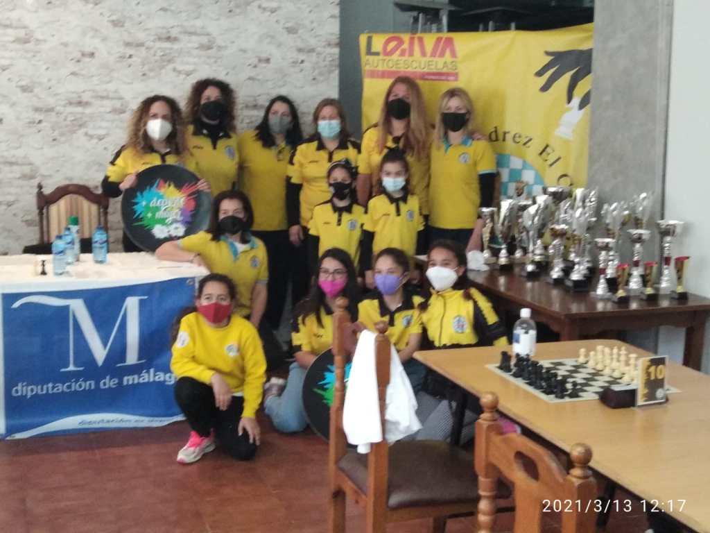 Anabel Guadamuro, ganadora del IV Open Femenino de Ajedrez