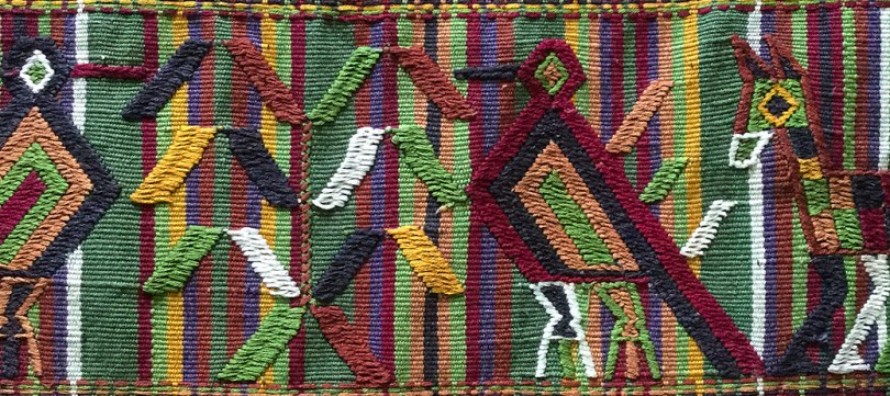 Topic cloth from Guatemala