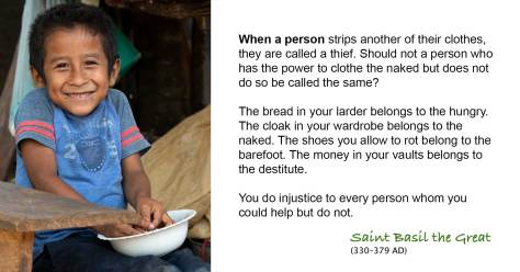 You do injustice to every person whom you could help but do not.