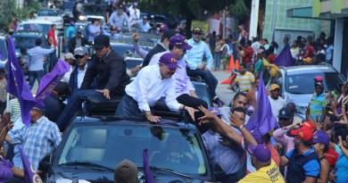 Hoy arrancan oficialmente caravanas de campaña electoral en calles dominicanas
