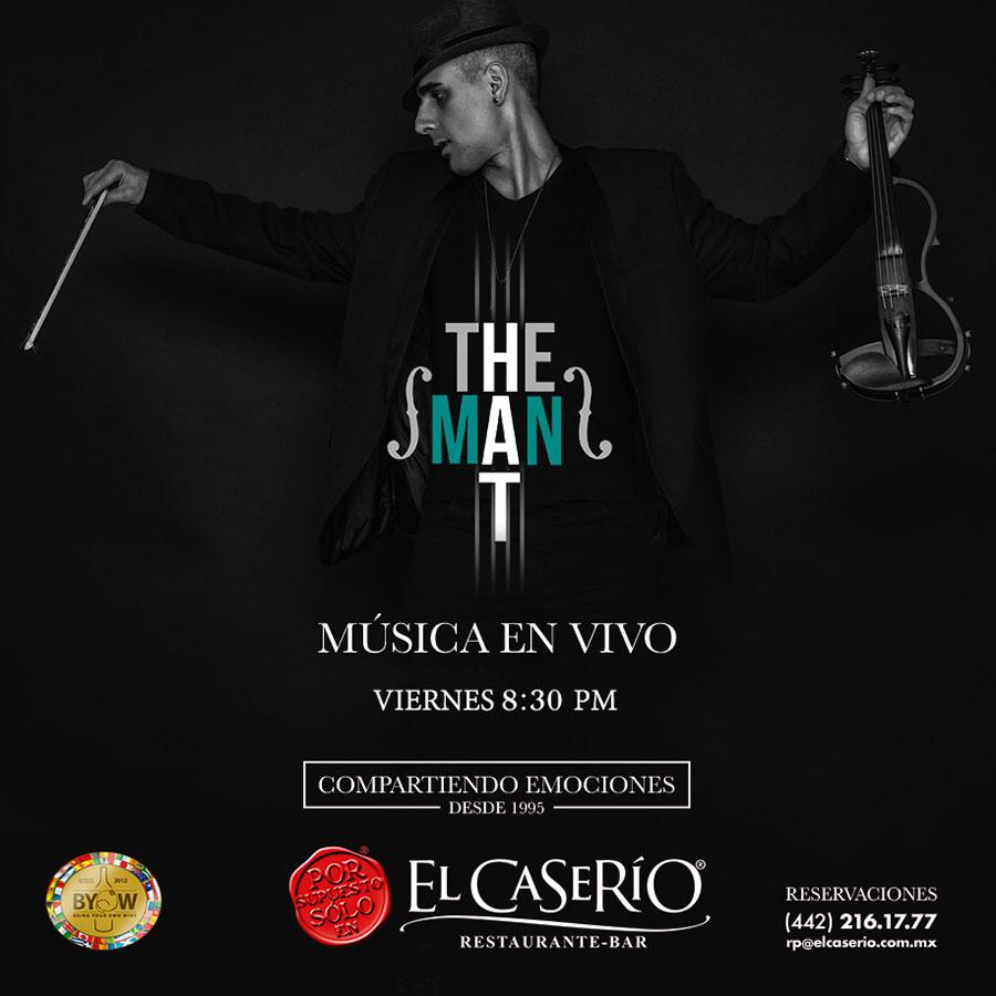 El Caserío Shows y Música presentan The Man T