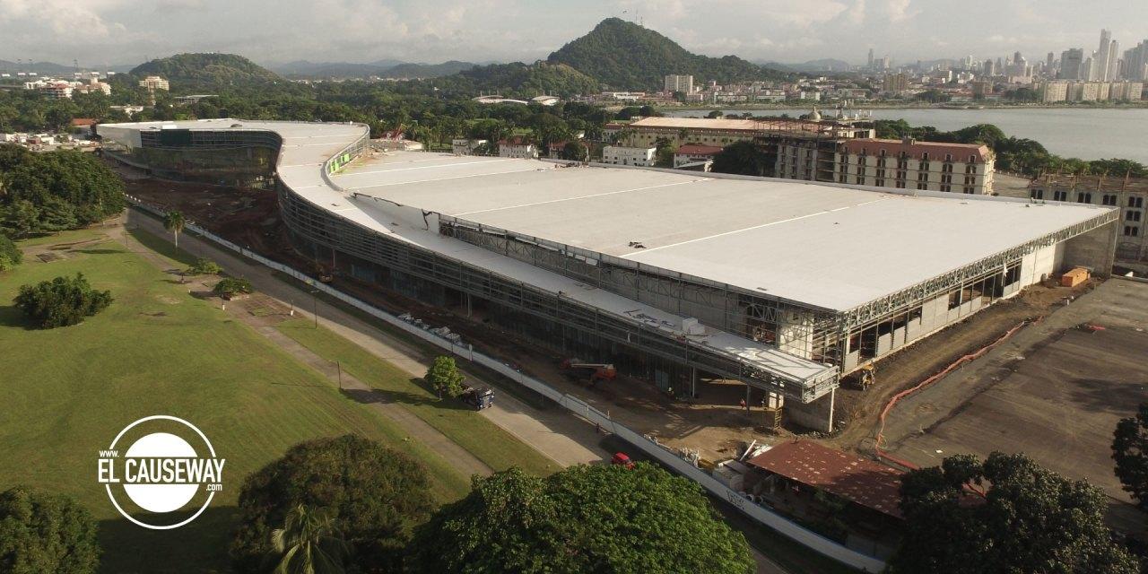 Avances de la Terminal de Cruceros y el Centro de Convenciones de Amador