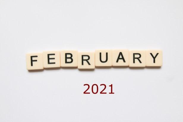word tiles February 2021