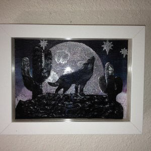 Shadowbox – Wolf and Moon
