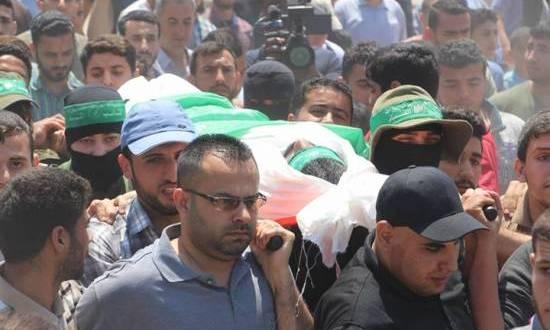 تشييع جثماني فلسطينييْن قتلا برصاص الاحتلال في الضفة