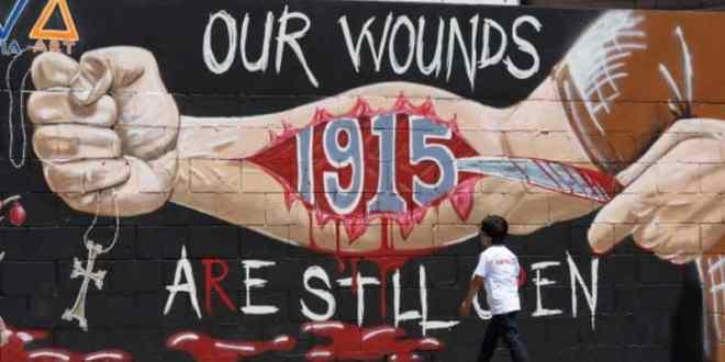 """ماكرون إعلان يوم وطني لإحياء ذكرى """"الإبادة الأرمنية"""" .. وتركيا ترد"""