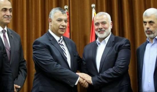 """""""حماس"""": هنية التقى رئيس المخابرات المصرية بالقاهرة"""