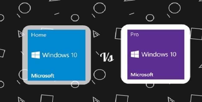 دروس تعليمية .. الفرق بين اصدار Windows 10 Pro و Windows 10 Home ؟