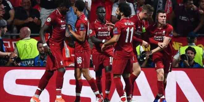 دوري ابطال اوروبا .. ليفربول بطلا لأوروبا بهدفي صلاح وأوريغي