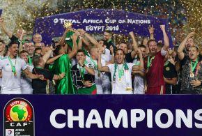 الجزائر تتوج بكأس أفريقيا للمرة الثانية في تاريخها بعد مسيرة ناجحة.. الشبكة نت