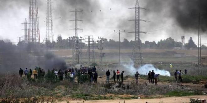 فلسطين .. جيش الاحتلال يُصيب 49 فلسطينيا شرقي قطاع غزة