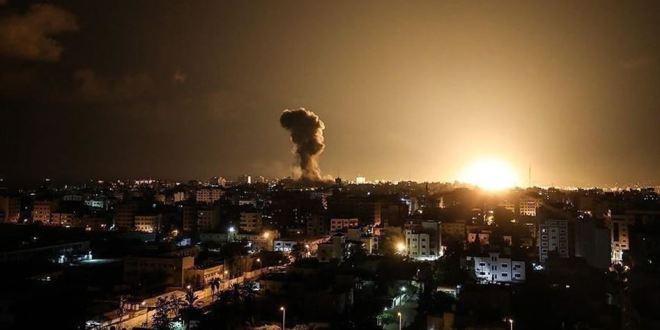 فلسطين .. طائرات الاحتلال تشن سلسلة غارات على قطاع غزة