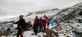 احوال المسلمين  .. أتراك يتسلقون الجبال لتسليط الضوء على قضية الأويجور