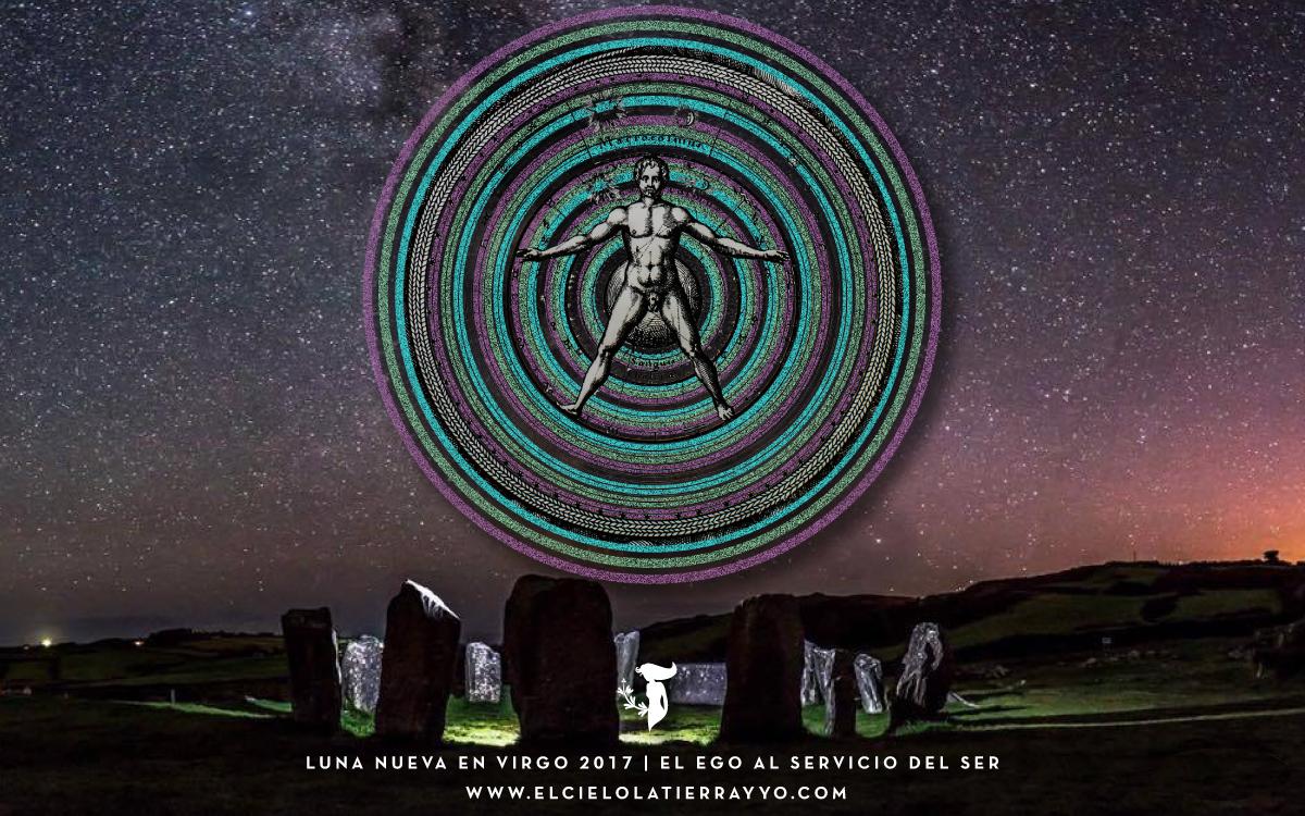 Stellium de Luna Nueva en Virgo 2017