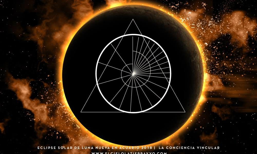ECLIPSE SOLAR de Luna Nueva en Acuario ::: 15 de Febrero ::: La Conciencia Vincular