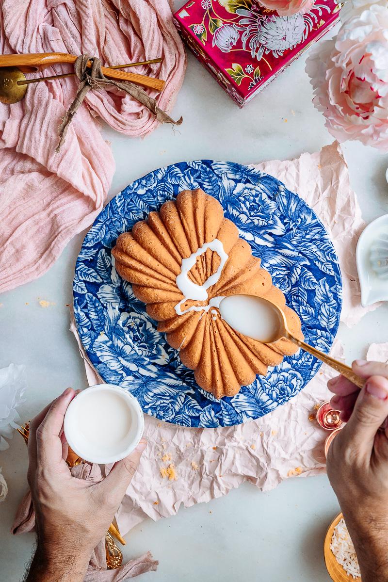 Coconut bundt cake with lime glaze recipe