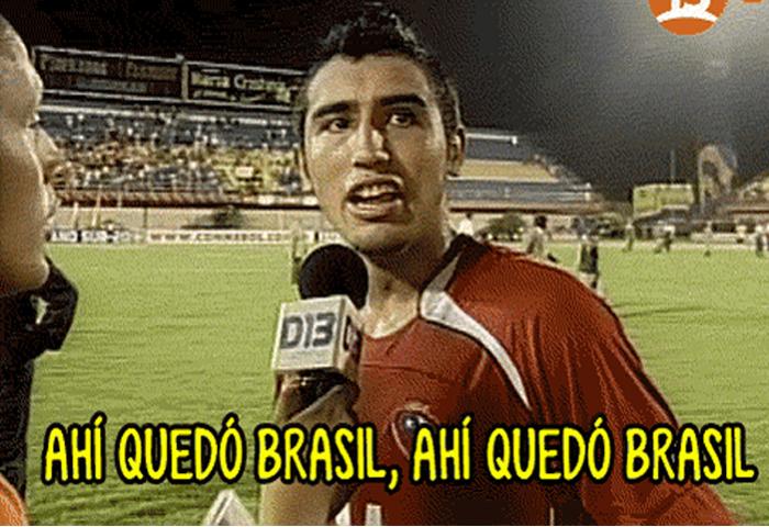 «Ahí quedó Brasil» y los mejores memes luego del triunfo de Chile