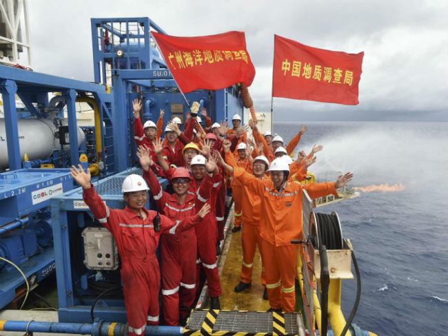 El hielo combustible, una posible energía del futuro por la que apuesta China