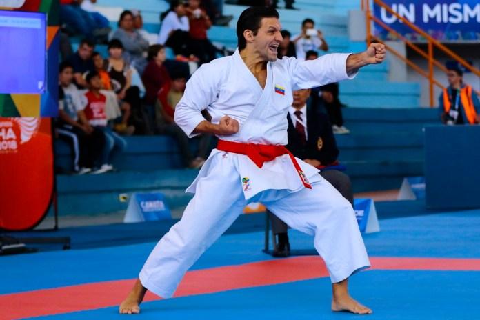 Antonio Diaz karate, Venezuela Juegos Suramericanos Cochabamba 2018