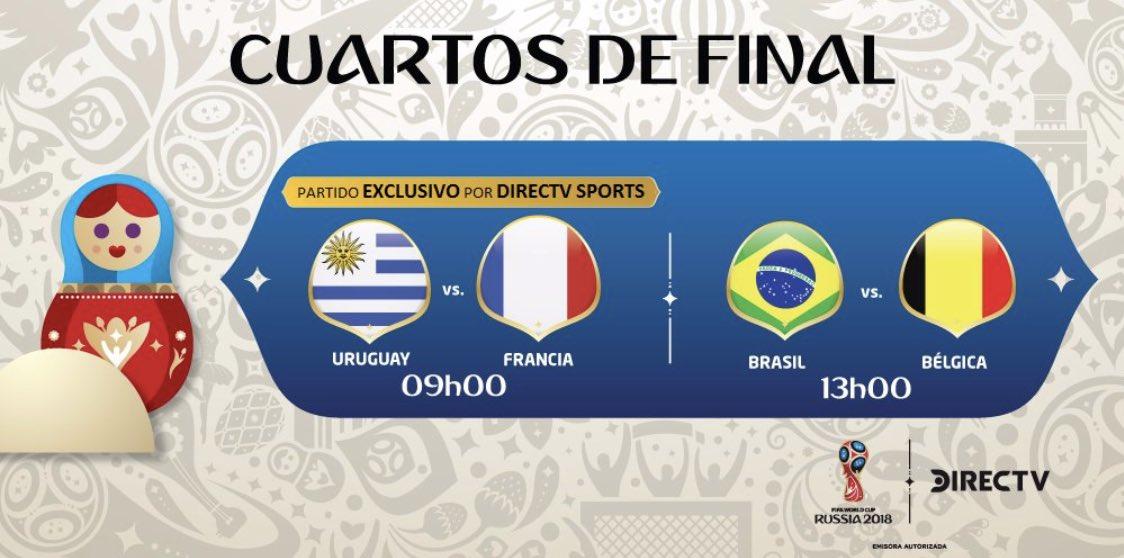 En minutos: Uruguay y Francia se medirán en los cuartos de final