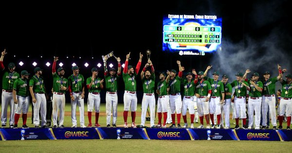México campeón del torneo
