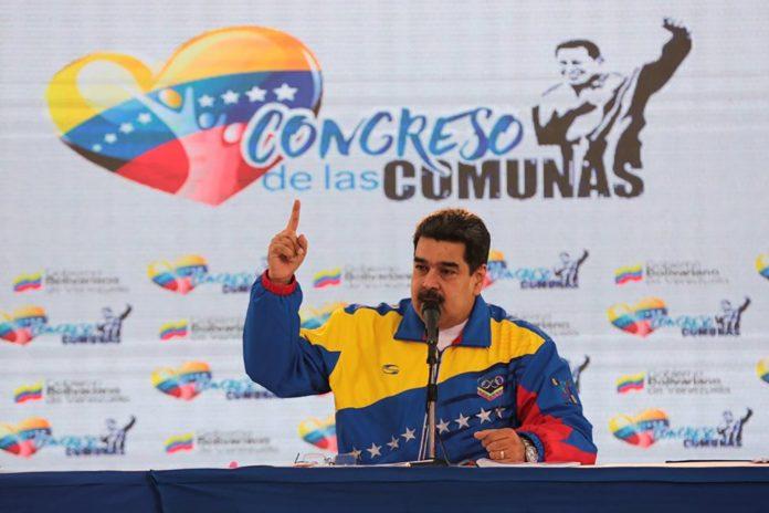 Maduro propone dar rango Constitucional a todas las Leyes del Poder Popular