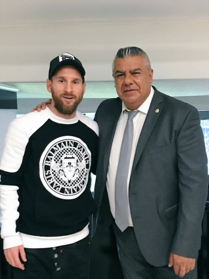 Messi y Tapia