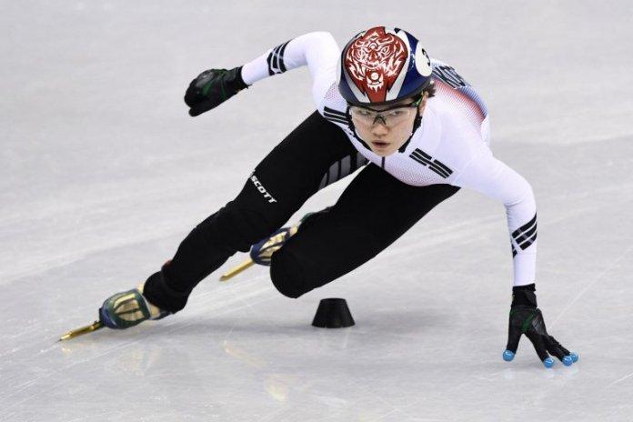 patinadora de Corea del Sur