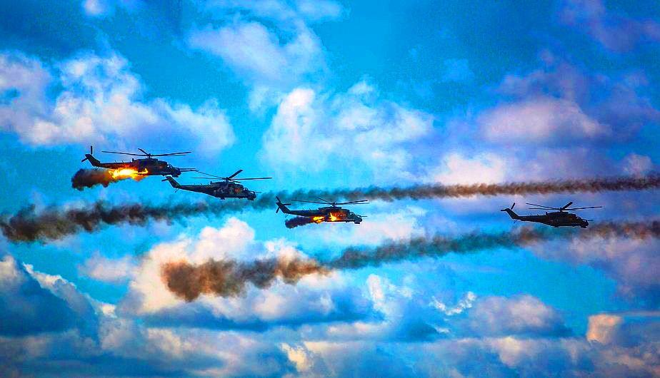 Rusia Helicópteros