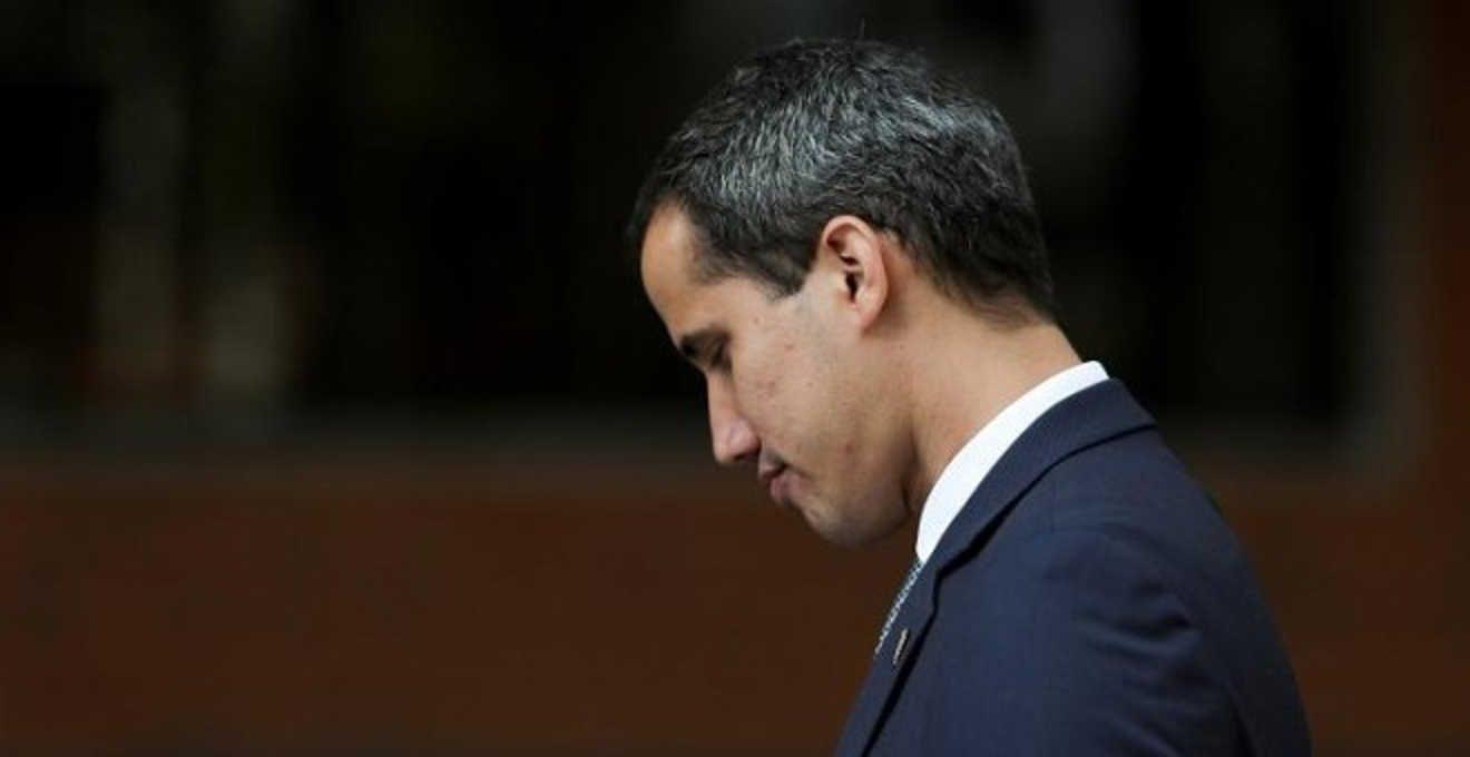 Guaidó aparece desde la embajada de Argentina en Caracas