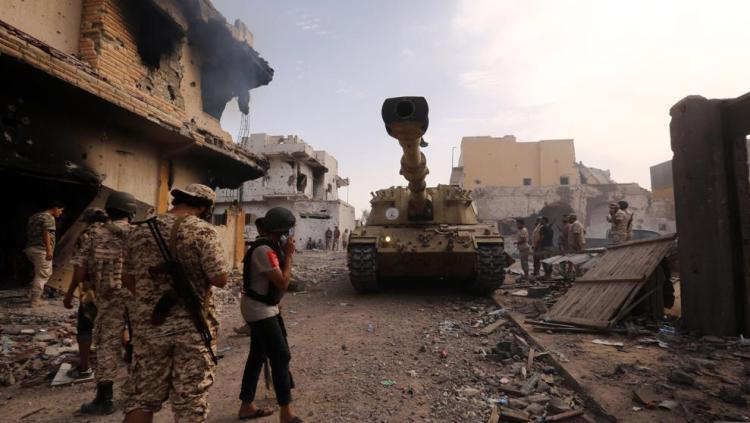 intervencion libia