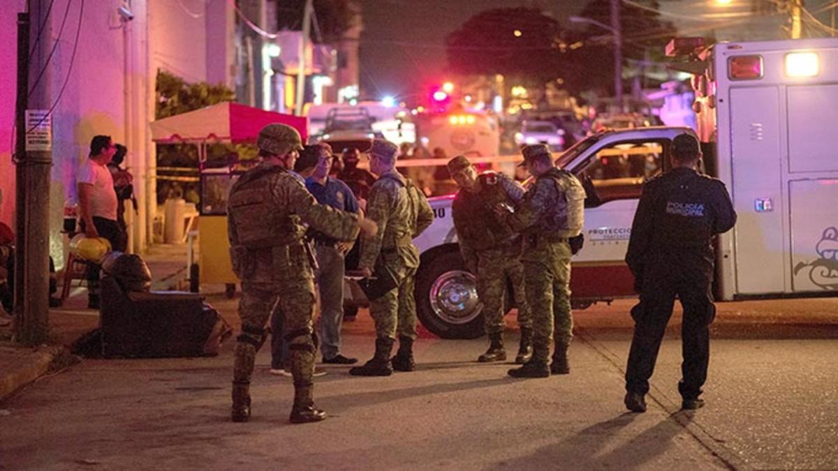 Al menos 23 muertos y 13 heridos en un incendio en un bar de Veracruz en México