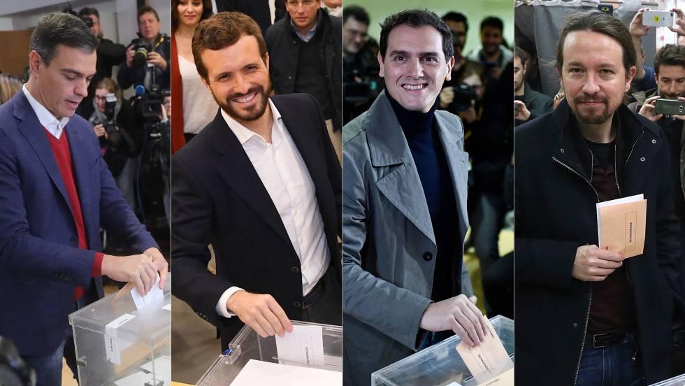 Inician elecciones generales en España