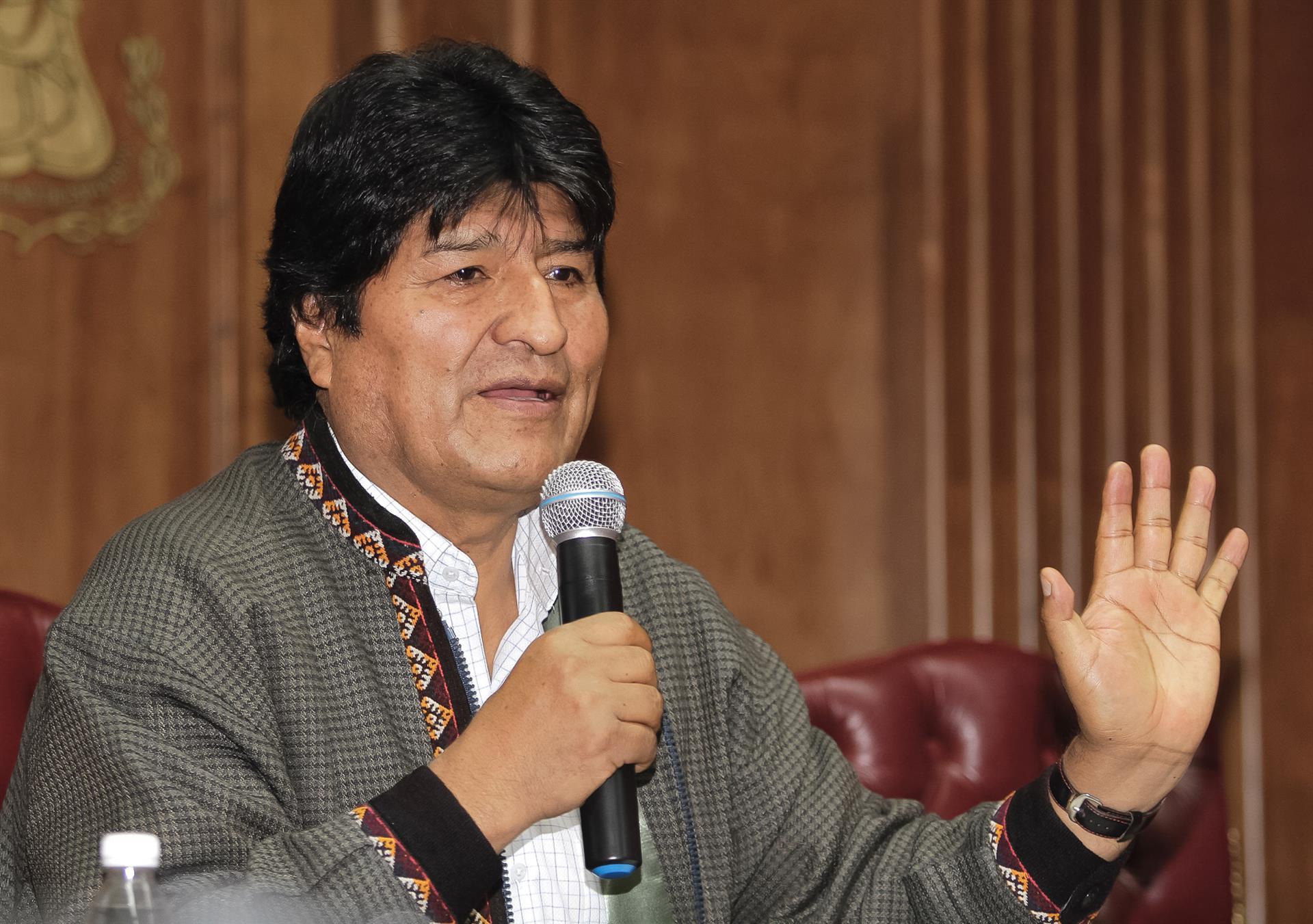 Gobierno de facto de Bolivia ordena detención contra Evo Morales