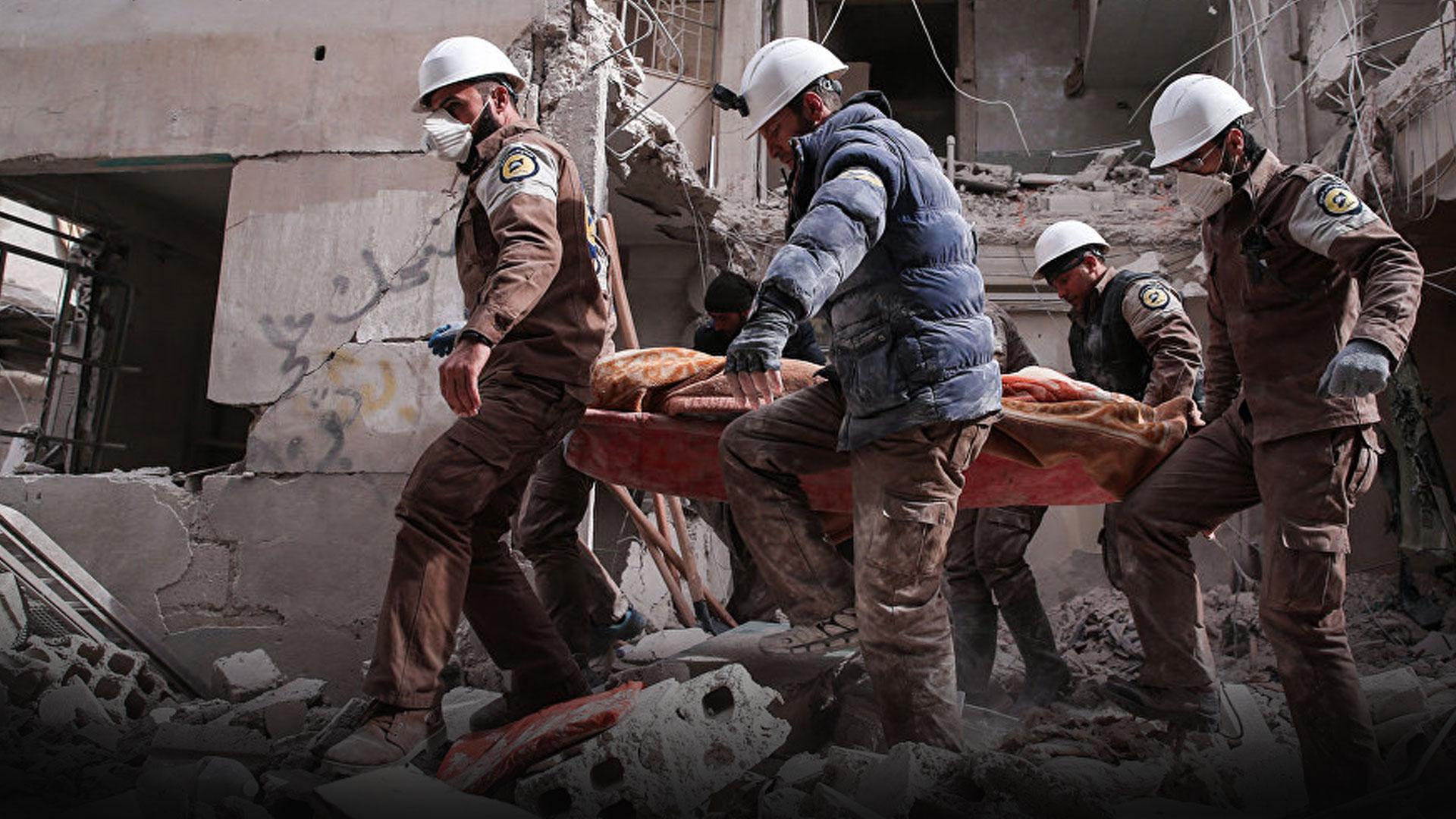 Militares rusos denuncian que los Cascos Blancos montaron un video falso sobre un ataque químico para culpar al Ejército Sirio