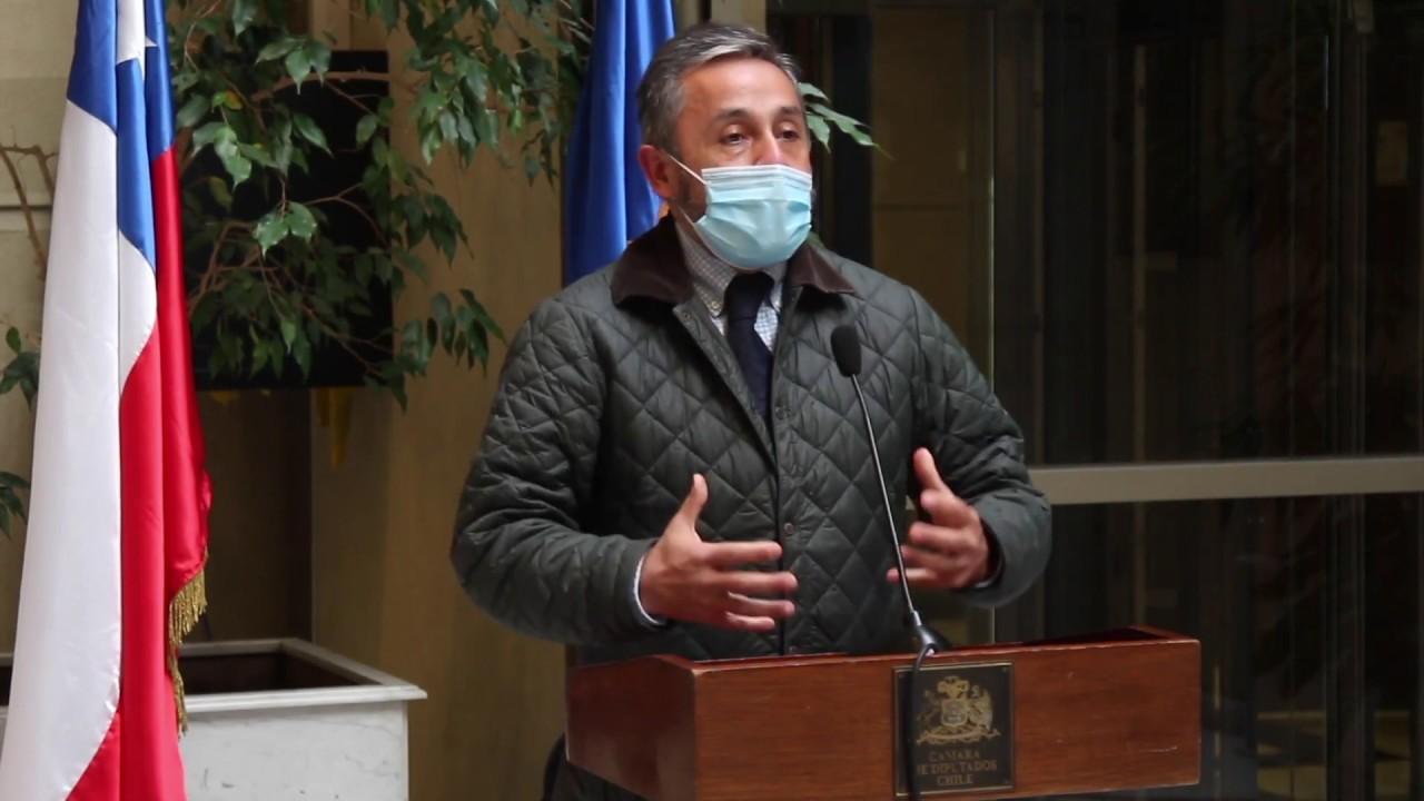 Diputado Eduardo Durán (RN) exige al Gobierno incluir en seguro de accidentes la cobertura de escolares con COVID-19