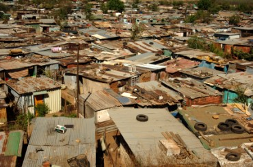 Homes in Soweto, South Africa
