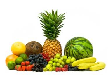 Nome de frutas em Ingles