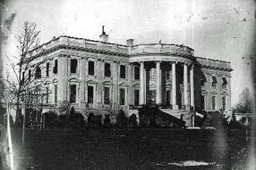 White House in mid 1800s