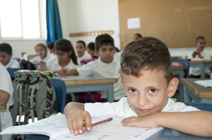 Talitha Kumi Evangelical Lutheran School in Beit Jala student