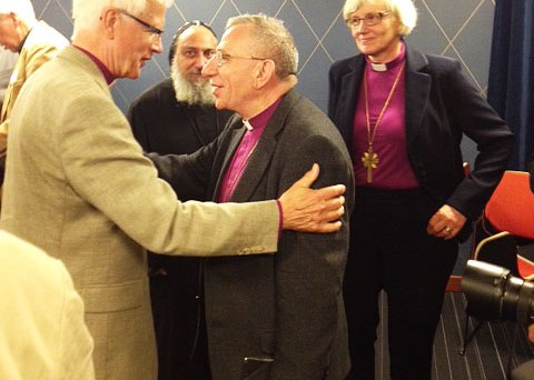 Bishop Younan Celebrates 1,000 years of Christianity in Skara, Sweden